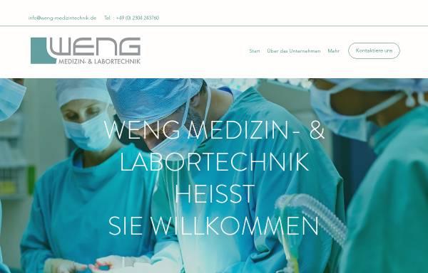 Vorschau von www.weng-medizintechnik.de, Weng Medizin- & Labortechnik, Inh. Klaus Weng