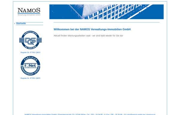Vorschau von www.namos.de, Namos GmbH