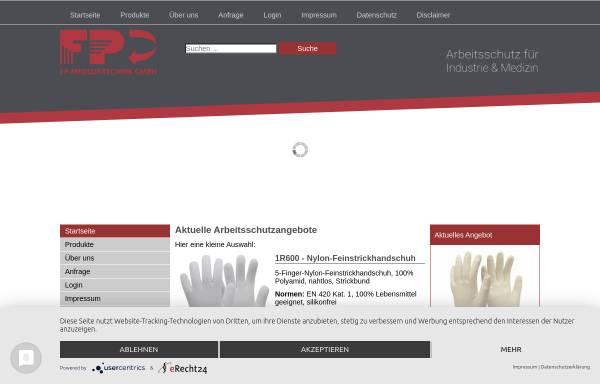 Vorschau von www.fp-medizintechnik.de, FP-Medizintechnik GmbH