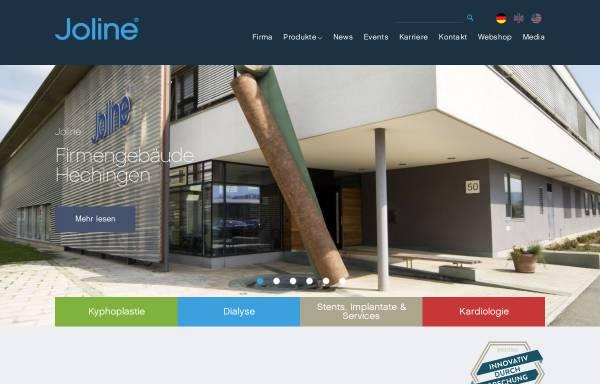 Vorschau von www.joline.de, Joline GmbH & Co. KG