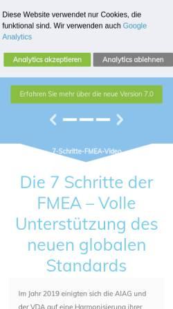 Vorschau der mobilen Webseite www.apis.de, APIS Informationstechnologien GmbH