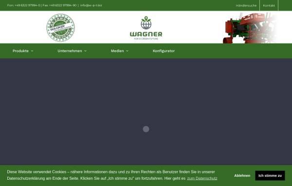 Vorschau von www.w-p-t.biz, Wagner Pflanzen Technik GmbH