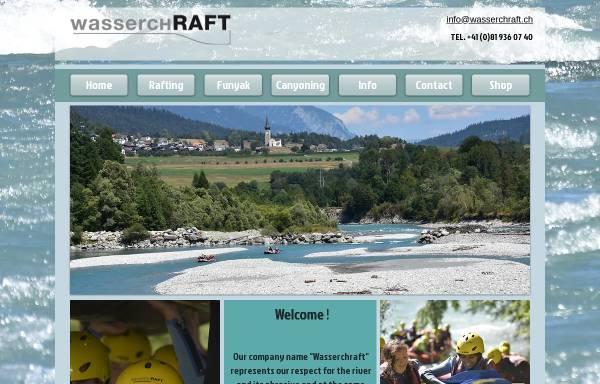 Vorschau von www.wasserchraft.ch, Wasserchraft