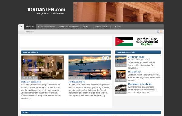 Vorschau von www.jordanien.com, Jordanien.com