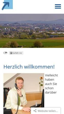 Vorschau der mobilen Webseite www.schramm-assekuranz.de, Atos Versicherungsmakler GmbH & Co. KG