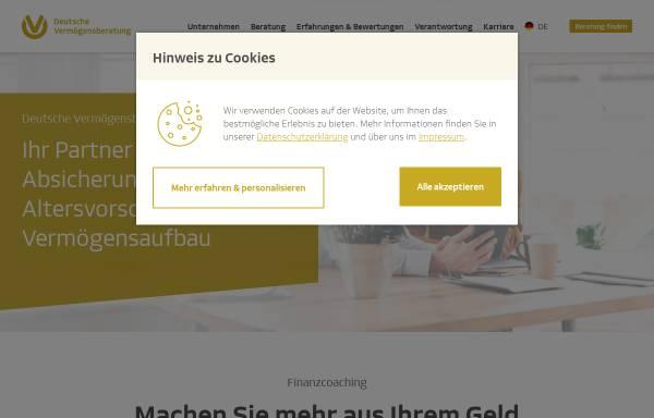 Vorschau von www.dvag.de, DVAG Deutsche Vermögensberatung AG