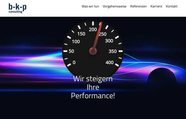 Vorschau von www.b-k-p.com, b-k-p consulting GmbH