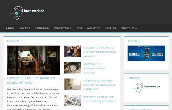 Vorschau von www.hoer-werk.de, Hör-Werk.de