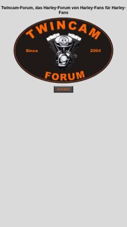 Vorschau der mobilen Webseite www.twincam-forum-nr1.de, Twincam-Forum