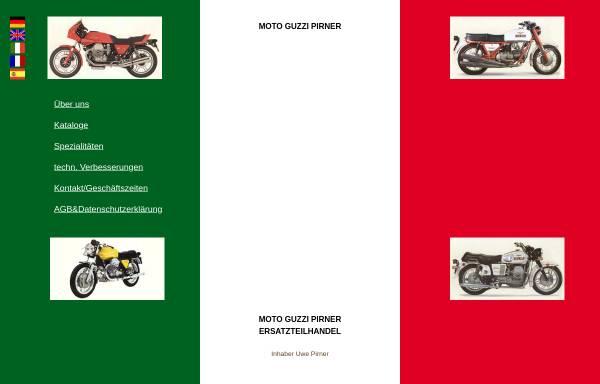 Vorschau von www.moto-guzzi-pirner.de, Moto Guzzi Pirner, Nürnberg