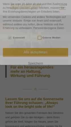Vorschau der mobilen Webseite www.lattal.de, LATTAL DynamicCoaching© - Felix Maria Arnet