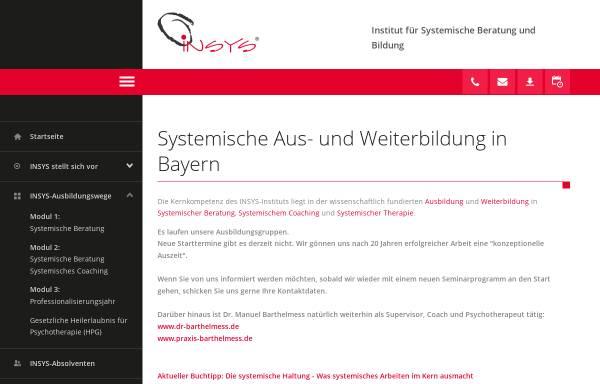 Vorschau von www.insys-institut.de, Insys