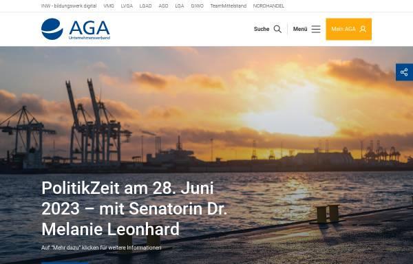Vorschau von www.aga.de, AGA Unternehmensverband Großhandel, Außenhandel, Dienstleistung e.V.