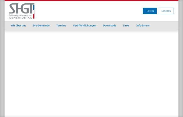 Vorschau von www.shgt.de, Kommunaler Arbeitgeberverband Schleswig-Holstein (KAV SH)