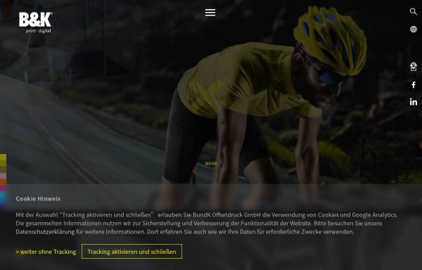 Vorschau von www.bk-offset.de, B&K Offsetdruck GmbH