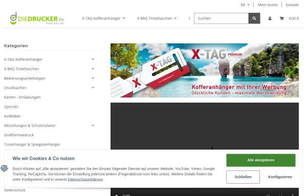 Vorschau von www.diedrucker.de, Media Die Drucker - Peter Salewski