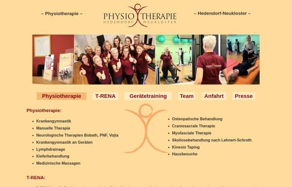 Vorschau von www.physiotherapie-hedendorf.de, Praxis für Physiotherapie Andrea Buck-Beckdorf