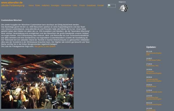 Vorschau von www.alteroller.de, Alte Roller