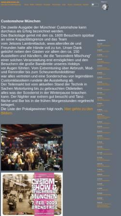 Vorschau der mobilen Webseite www.alteroller.de, Alte Roller