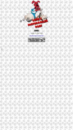 Vorschau der mobilen Webseite www.buema.ch, Lupos Rollerseiten