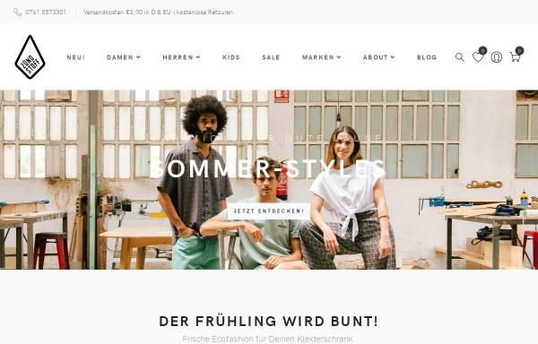 Vorschau von www.zuendstoff-clothing.de, Zündstoff, Sascha Klenz & Mathhias Rau GbR