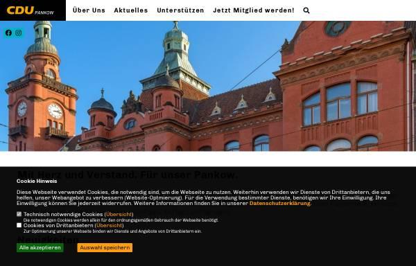 Vorschau von www.cdupankow.de, CDU Pankow