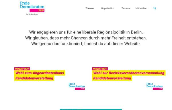 Vorschau von www.fdp-pankow.de, FDP Pankow