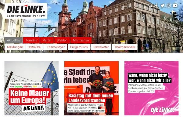 Vorschau von www.die-linke-pankow.de, Die Linke. Pankow
