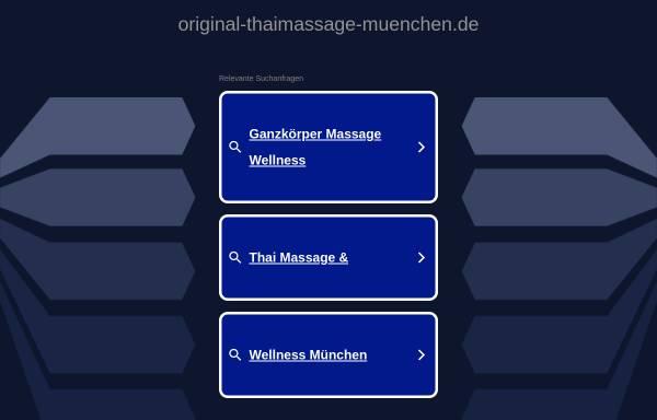 Vorschau von www.original-thaimassage-muenchen.de, Original Thaimassage München GbR