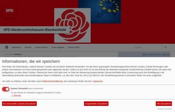 Vorschau von www.spd-niederschoenhausen.de, SPD Niederschönhausen