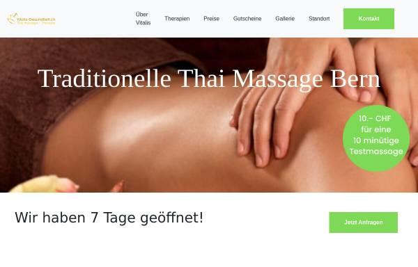 Vorschau von www.vitalis-thai.ch, Vitalis Thaimassagen