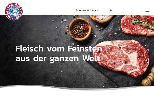 Vorschau von www.tmt-taurus.de, TMT Taurus Meat-Trading GmbH