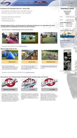 Vorschau der mobilen Webseite www.cd-sportz.ch, CD-Sportz Paintball