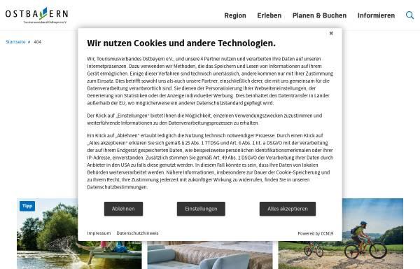 Vorschau von www.ross-und-reiter-urlaub.de, Ross&Reiter in Ostbayern