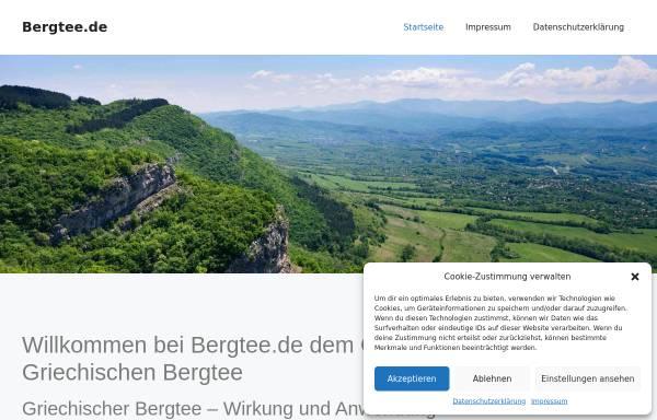 Vorschau von www.bergtee.de, Aytem GmbH