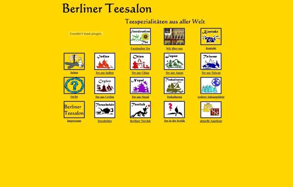 Vorschau von www.tee-import.de, Berliner Teesalon