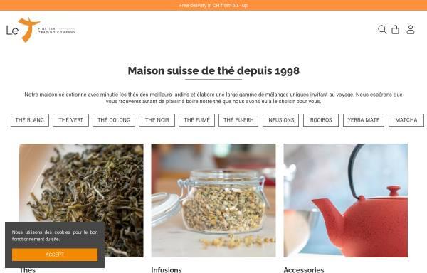 Vorschau von www.le-t.com, Fine Tea Trading Company