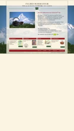 Vorschau der mobilen Webseite www.guduchi.de, Guduchi Tee