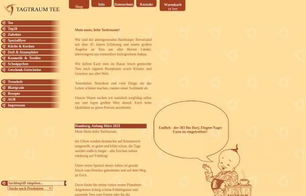 Vorschau von www.ttt-shop.de, Tagtraum Tee Versand und Großhandels GmbH