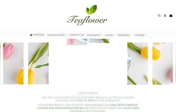 Vorschau von www.teaflower.de, Teaflower Teestand auf dem Viktualienmarkt
