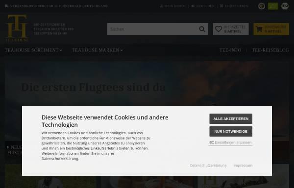Vorschau von www.teahouse.de, Teahouse, Werner Merten