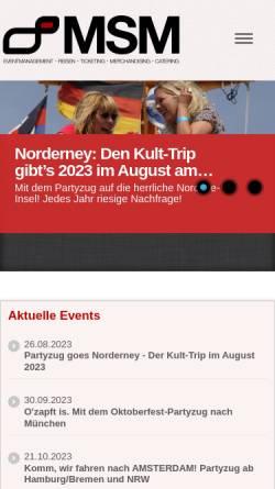 Vorschau der mobilen Webseite www.t4u.de, T4U