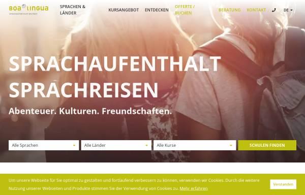 Vorschau von www.boalingua.ch, Boa Lingua