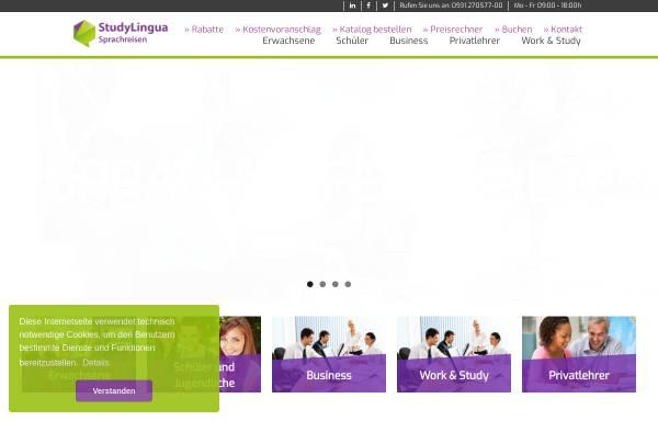 Vorschau von www.experience-sprachreisen.de, Experience! Sprachreisen GmbH