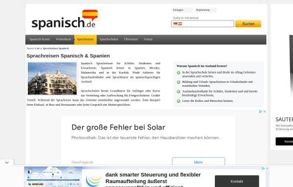 Vorschau von www.flamenco-sprachreisen.de, Flamenco Sprachreisen GmbH