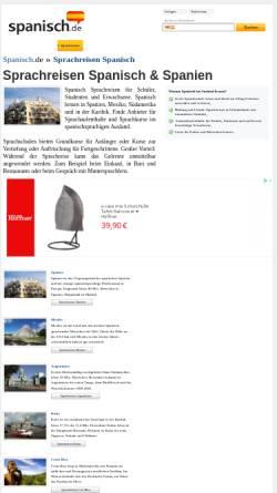Vorschau der mobilen Webseite www.flamenco-sprachreisen.de, Flamenco Sprachreisen GmbH