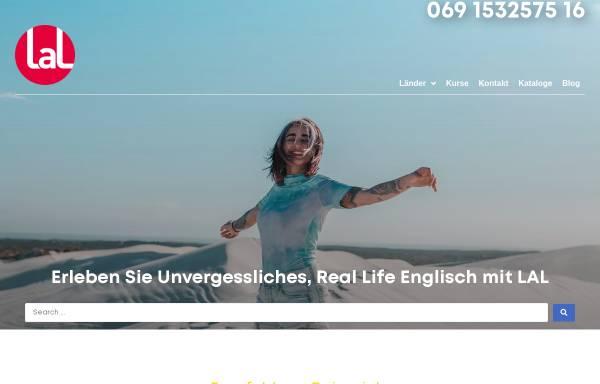 Vorschau von www.lal.de, LAL Sprachreisen GmbH