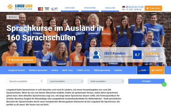 Vorschau von www.linguland.com, Linguland