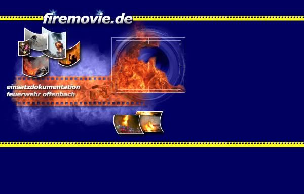 Vorschau von www.firemovie.de, Feuerwehr Offenbach - Einsatzdokumentation