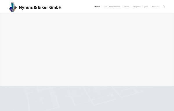 Vorschau von www.fassadenplaner.de, Nyhuis & Eiker GmbH
